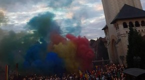 VIDEO LIVE. A început Marşul Centenar, de la Alba Iulia la Chişinău
