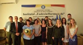Raisa Padurean, directorul adjunct al liceului românesc din Tiraspol, premiată la București