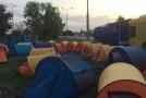 Unioniştii au decis să întindă corturi în vama Albiţa-Leuşeni