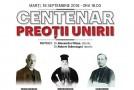 """""""Preoții Unirii"""", eveniment organizat de Institutul """"Frații Golescu"""""""