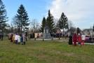 În regiunea Cernăuți a fost sfințită o troiță în memoria victimelor represiunilor staliniste