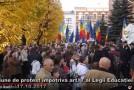 """VIDEO. Televiziune din Cernăuți, premiată la Iași pentru documentarul """"Limba noastră cea română"""""""
