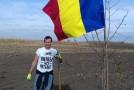 Mai mult oxigen în Teleorman: Voluntari unioniști au plantat 100 de copaci la 100 de ani de la Marea Unire