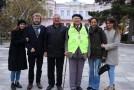 VIDEO. Fostul deputat Ion Mărgineanu a plecat pe jos pe Drumul Unirii