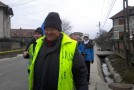 Profesorul Ion Mărgineanu parcurge ultimii kilometri din Drumul Unirii