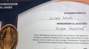 (VIDEO) Roșienii, ambasadori ai Unirii. Primele certificate au ajuns în Roșia Montană