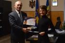 (VIDEO) Gheorghe Răileanu, primarul orașului Cimișlia: Sunt și voi fi un Ambasador al Unirii. Edilul a primit titlul onorific