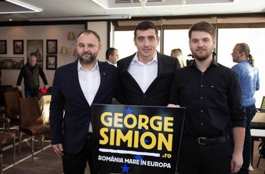George Simion susține candidații unioniști Anatol Ursu și Ion Leașcenco la alegerile parlamentare din R. Moldova