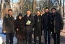 De 10 ani, în amintiri. Liderii unioniști au adus un omagiu marelui poet al neamului românesc, Grigore Vieru