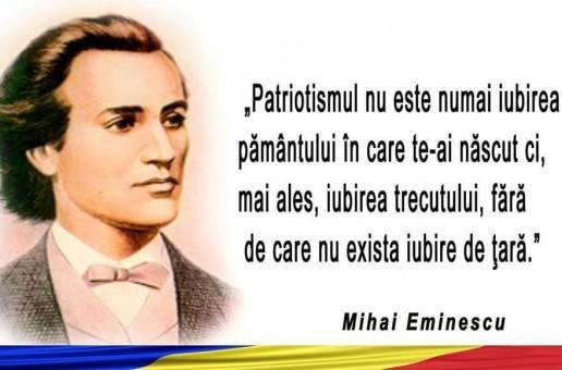 Românii din Transcarpatia au dezvelit un bust al poetului național Mihai Eminescu