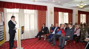 """,,Unionistul care unește românii"""", George Simion, și-a lansat candidatura la alegerile europarlamentare în județul Argeș"""
