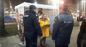 (VIDEO) Primul incident în campania pentru europarlamentare: voluntarul lui George Simion, bătut