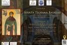 Cuvioasa Teofana Basarab va fi evocată la Clubul Țăranului din București