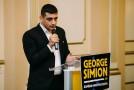 """George Simion: """"Orice român care luptă împotriva corupţiei este un bun cetăţean, iar această luptă trebuie continuată"""""""