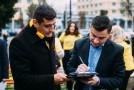 Primarul de Iași Mihai Chirica strânge semnături pentru candidatul independent George Simion