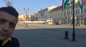 Transilvania e România! George Simion, la Sfântu Gheorghe: De ce în inima țării e arborat steagul Ungariei?