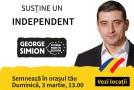 Mobilizare generală în România, Republica Moldova și diaspora pentru candidatul independent George Simion