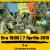 7 aprilie 2009-7 aprilie 2019 – 10 ani, 3,4 mil. victime, niciun vinovat: Manifestaţii de comemorare în România şi Rep. Moldova