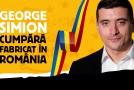 George Simion cumpără Fabricat în România