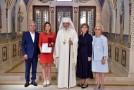 """Simona Halep a primit Ordinul """"Crucea Patriarhală"""": Mă bucur că sunt româncă, mă bucur că sunt pe acest pământ. Slavă Domnului și Dumnezeu să ne binecuvânteze pe toți!"""