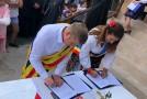 Înfrățire istorică între două localități din România și Republica Moldova