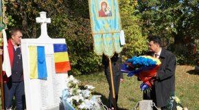 Românii din Cernăuți s-au rugat pentru sufletele martirilor neamului românesc