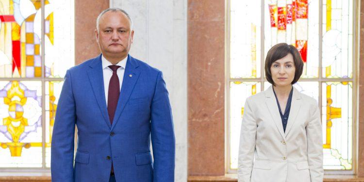 Maia Sandu îi cere demisia lui Igor Dodon